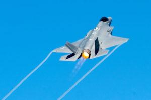 F-35A AB Takeoff