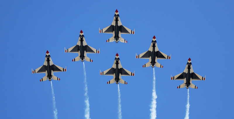 USAF Thunderbirds - Launch