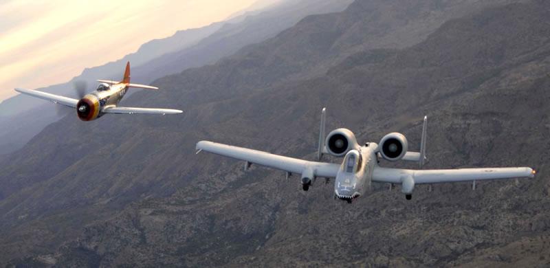 Thunderbolts - A-10 & P-47