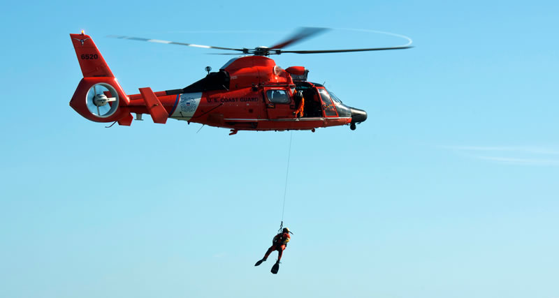 US Coast Guard SAR Demo