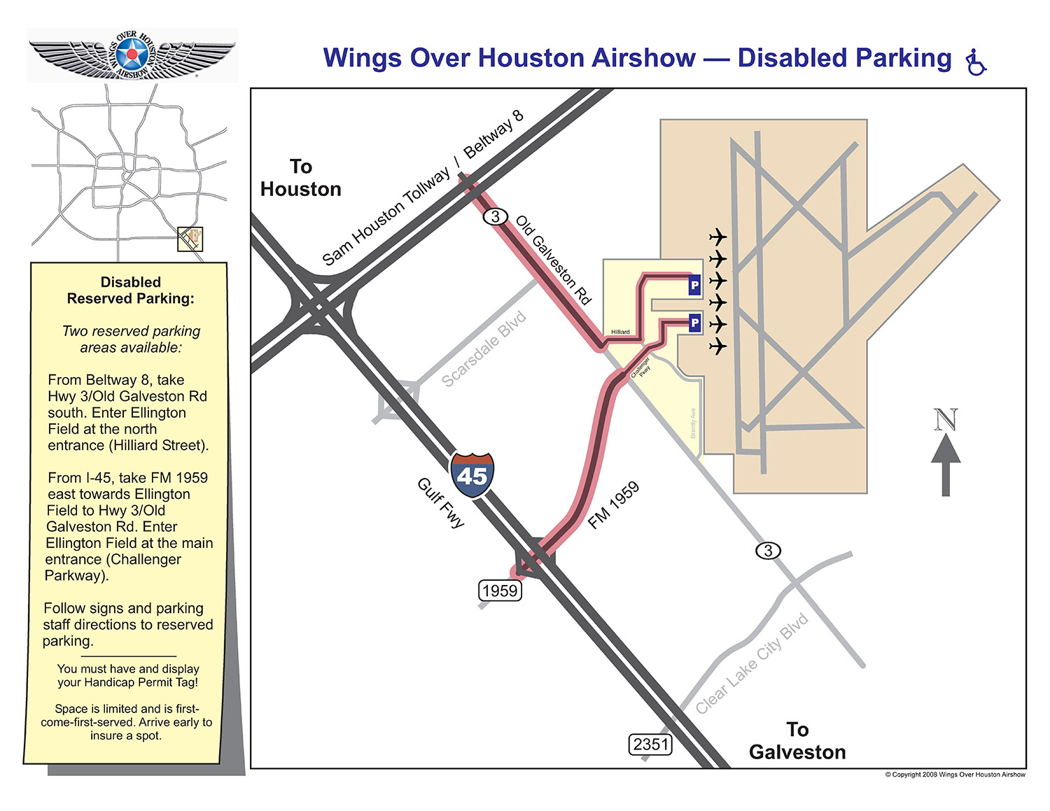 Parking | Directions | Houston Airshow | Travel | Hotels on houston ship channel industrial map, houston inner loop zip code map, houston tx location map, houston metro area map, houston beltway 8 map, houston tx area map, houston gang areas map, houston port map, houston road map, houston county map, south texas area map, houston hospitals map, houston on us map, houston tx counties map, houston tx zip map, greater houston map, houston freeway map, san jac south campus map, houston districts map, houston street map,