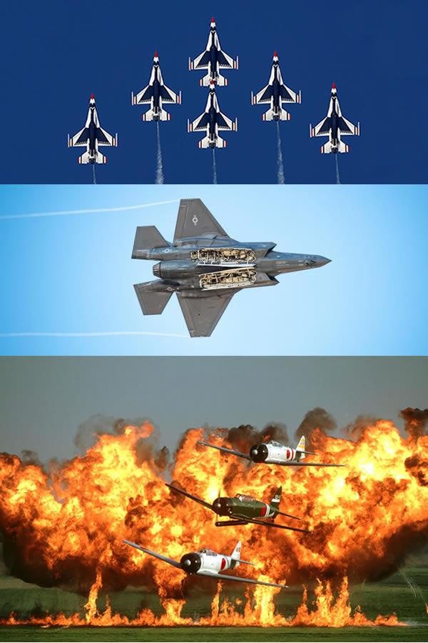 Thunderbirds, Snowbirds, F-35A, Tora!