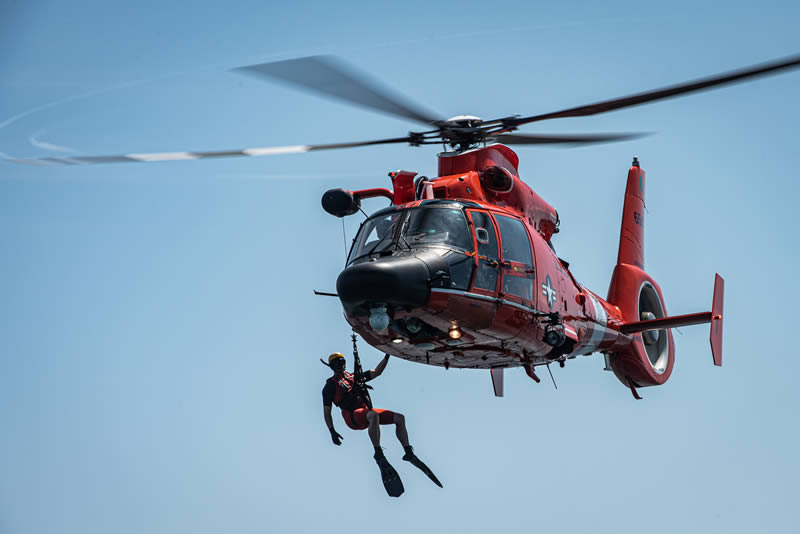 USCG SAR Rescue